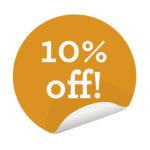 10% off Books and CD's in our Bookshop